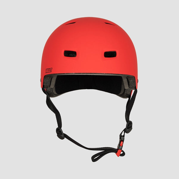 Bullet T35 Deluxe Helmet Matte Red - Safety Gear