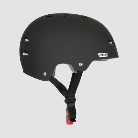 Bullet x Santa Cruz Screaming Hand Skate/Bmx Helmet Matte Black - Safety Gear