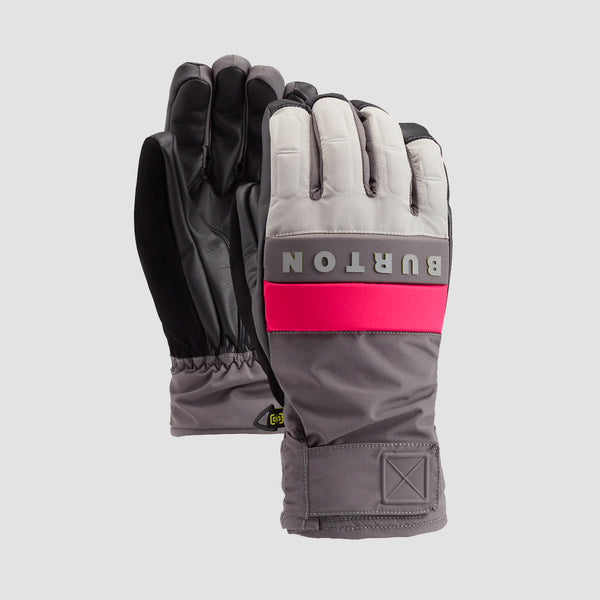 Burton Backtrack Snow Gloves Iron Gray/Castlerock