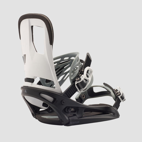 Burton Cartel EST Snowboard Bindings Black/White