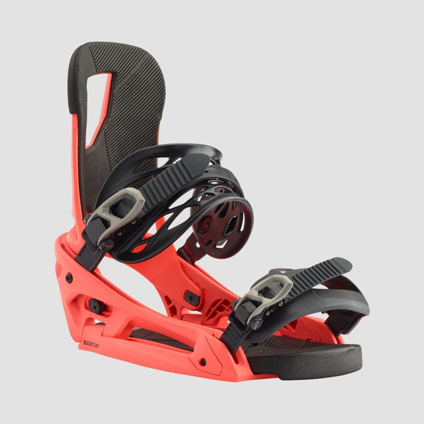 Burton Cartel EST Snowboard Bindings Red - Snowboard