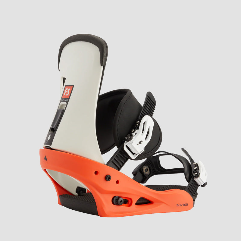 Burton Freestyle Re:Flex Snowboard Bindings Red/White/Black