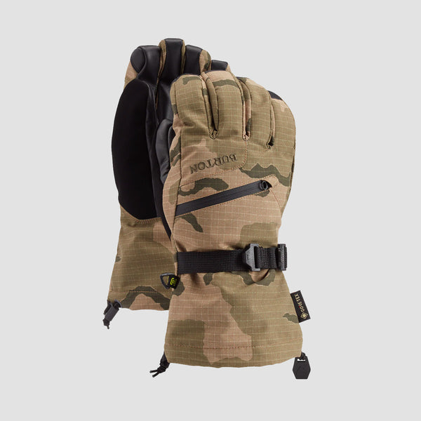 Burton Gore-Tex Snow Gloves Barren Camo