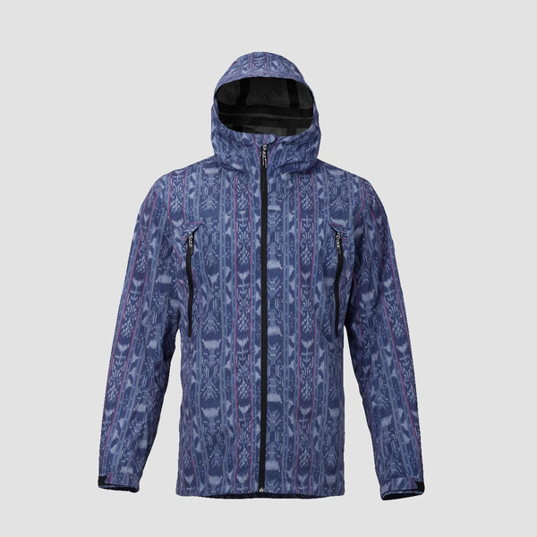 Burton Intervale Snow Jacket Dark Denim Guatikat - Snowboard