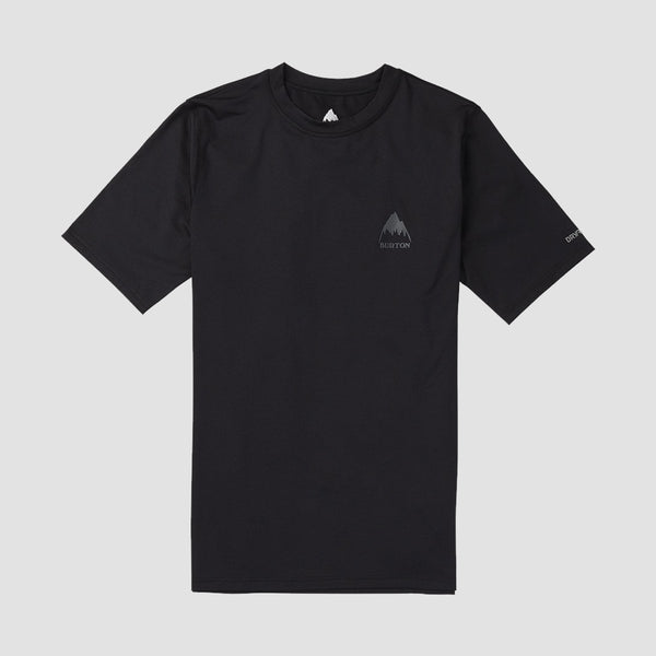 Burton Lightweight Tech Base Layer Tee True Black - Snowboard