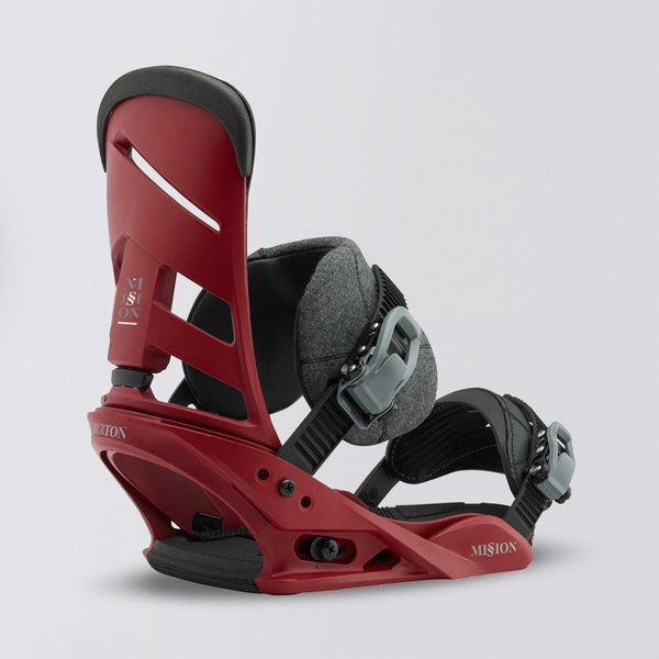 Burton Mission Soft Flex Snowboard Bindings Brickyard - Snowboard