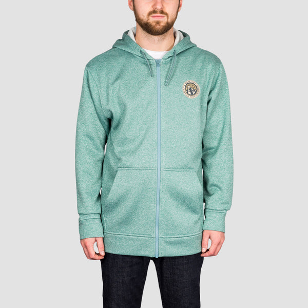 Burton Oak Seasonal Zip Hood Trellis Heather