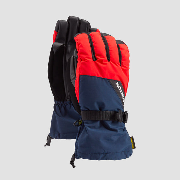 Burton Prospect Snow Gloves Dress Blue/Flame Scarlet