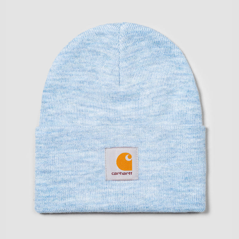 Carhartt WIP Acrylic Watch Beanie Frosted Blue Heather - Unisex