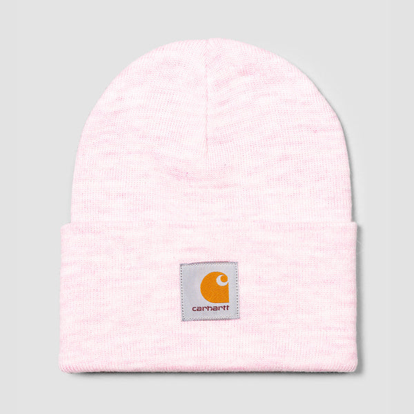 Carhartt WIP Acrylic Watch Beanie Frosted Pink Heather - Unisex