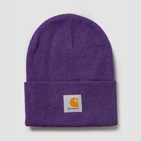 Carhartt WIP Acrylic Watch Beanie Frosted Viola Heather