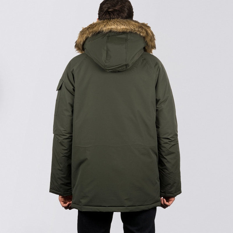 Carhartt WIP Anchorage Parka Jacket Laurel/Black - Clothing