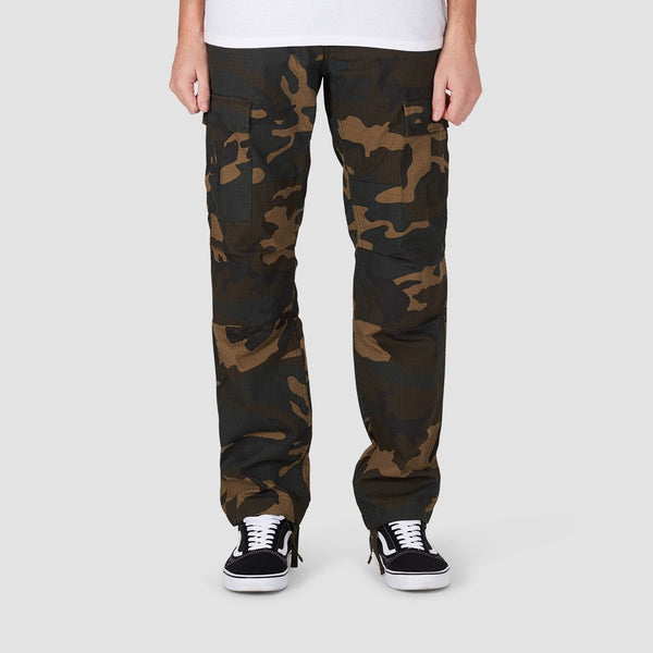 Carhartt WIP Aviation Cargo Pants Camo Laurel - Clothing