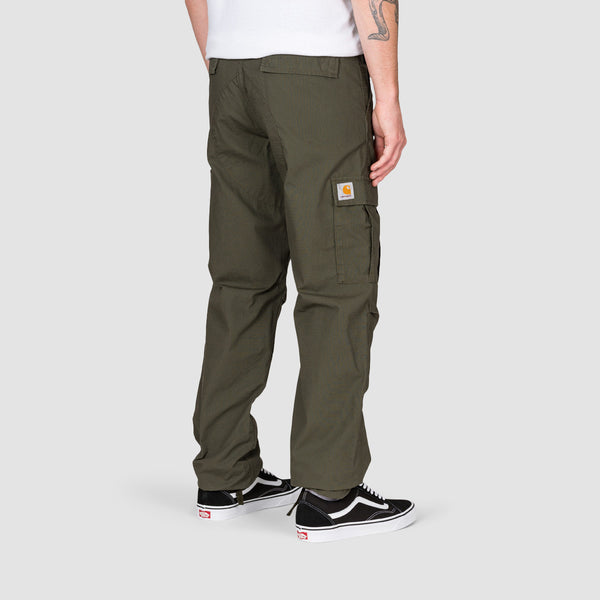 Carhartt WIP Aviation Cargo Pants Cypress Rinsed