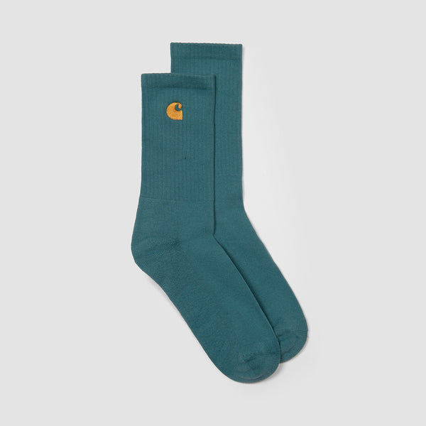 Carhartt WIP Chase Socks Hydro/Gold - Unisex