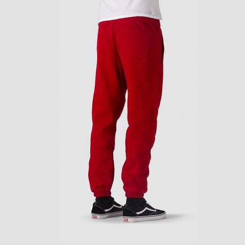 Carhartt WIP Chase Sweat Pants Blast Red/Gold - Clothing