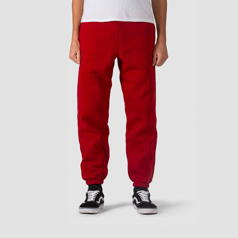 Carhartt WIP Chase Sweat Pants Blast Red/Gold