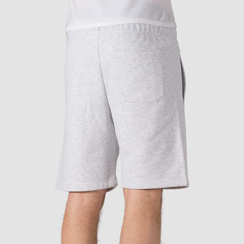 Carhartt WIP Chase Sweat Shorts Ash Heather/Gold - Clothing
