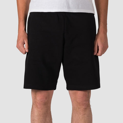 Carhartt WIP Chase Sweat Shorts Black/Gold