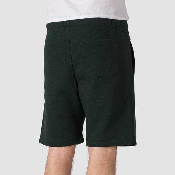 Carhartt WIP Chase Sweat Shorts Loden/Gold - Clothing