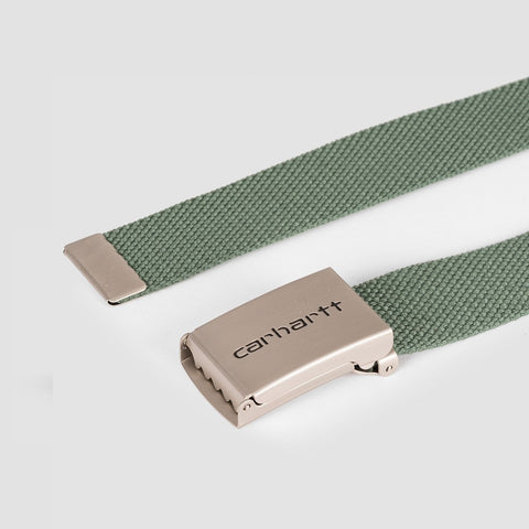 Carhartt WIP Clip Belt Chrome/Adventure - Accessories