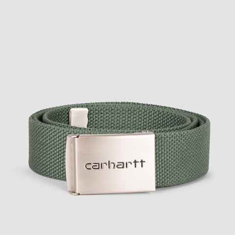Carhartt WIP Clip Belt Chrome/Adventure