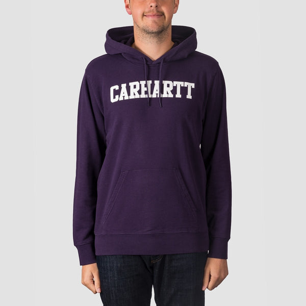 Carhartt WIP College Pullover Hood Lakers/White - Clothing