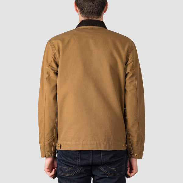 Carhartt WIP Detroit Jacket Hamilton Brown - Clothing