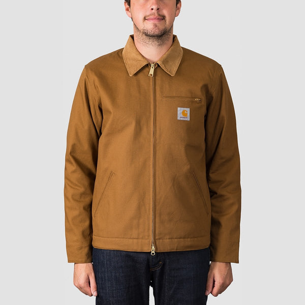 Carhartt WIP Detroit Jacket Hamilton Brown Rigid - Clothing