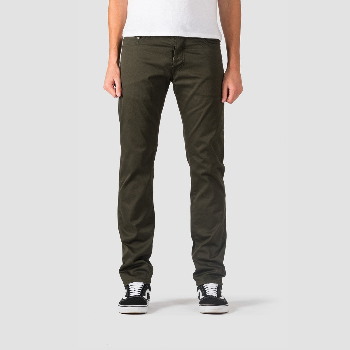 Carhartt WIP Klondike Pants Cypress Rinsed - Clothing
