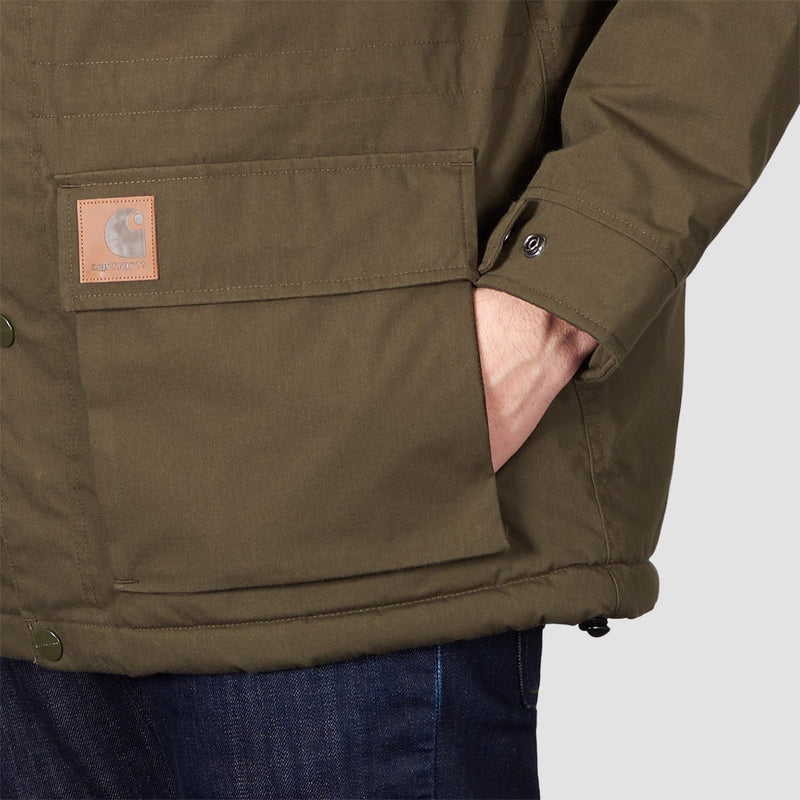 Carhartt WIP Mentley Jacket Cypress - Clothing