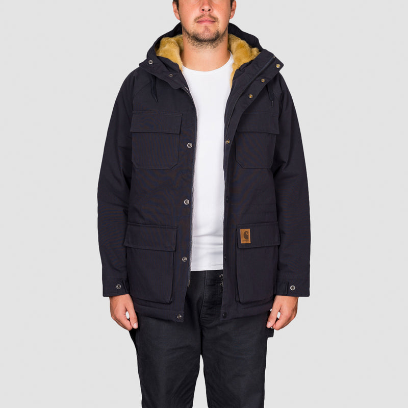 Carhartt WIP Mentley Jacket Dark Navy