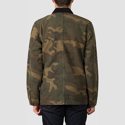 Carhartt WIP Michigan Coat Camo Laurel - Clothing