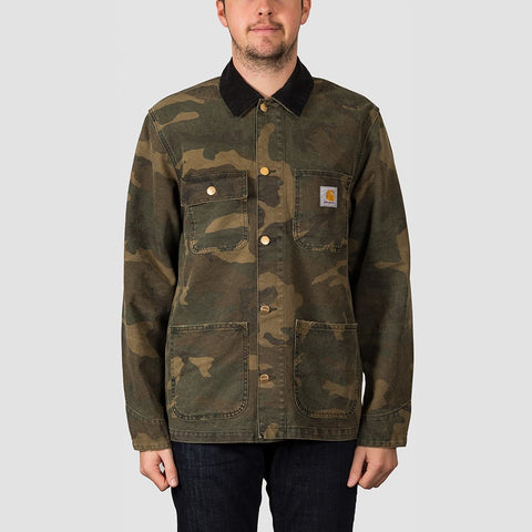 Carhartt WIP Michigan Coat Camo Laurel