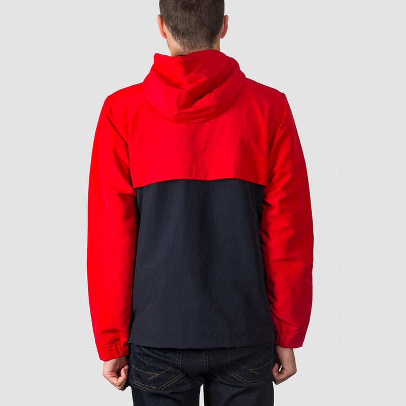 Carhartt WIP Nimbus Two Tone Pullover Jacket Goji/Dark Navy - Clothing