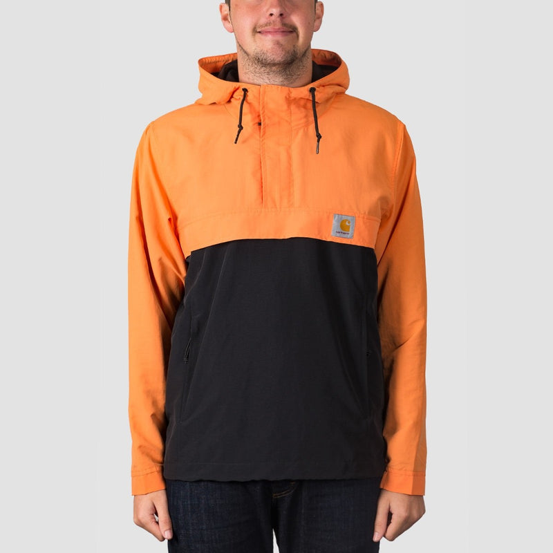 Carhartt WIP Nimbus Two Tone Pullover Jacket Jaffa/Black - Clothing