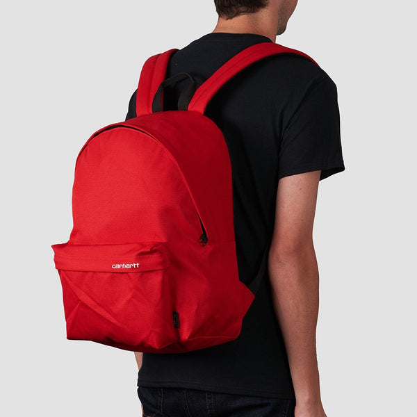 Carhartt WIP Payton Backpack Cardinal/White - Accessories