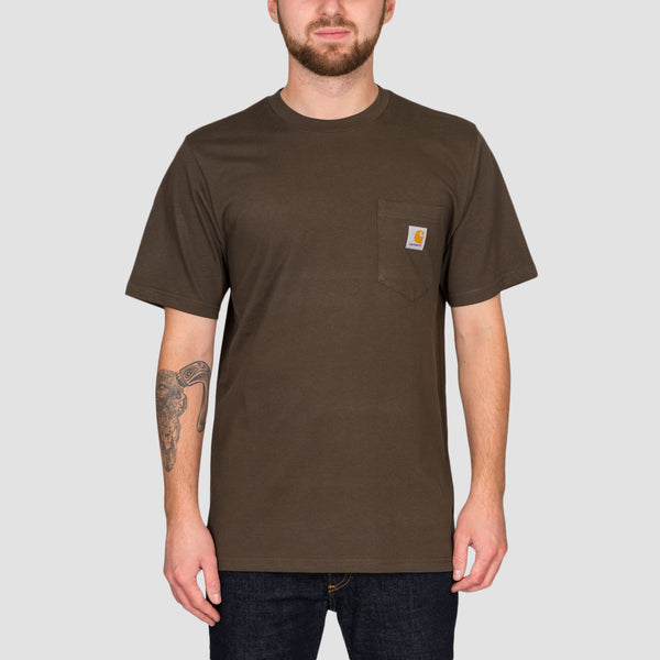 Carhartt WIP Pocket Tee Cypress