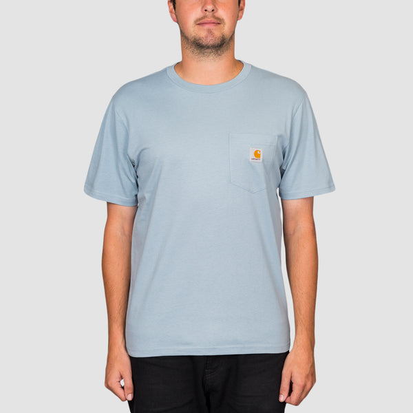 Carhartt WIP Pocket Tee Frosted Blue