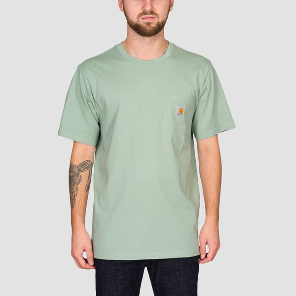 Carhartt WIP Pocket Tee Frosted Green