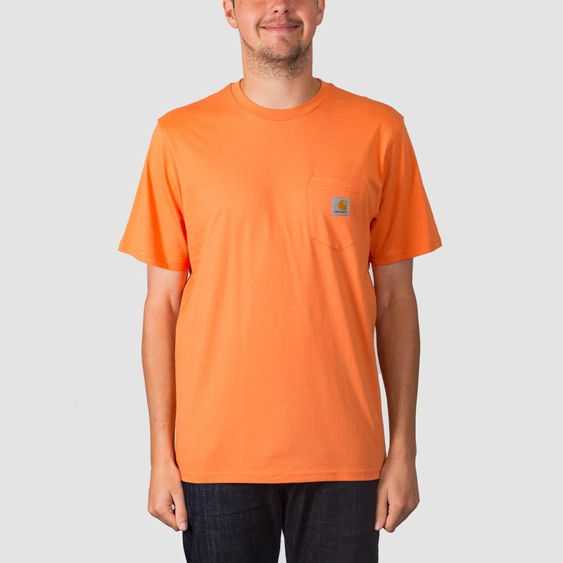 Carhartt WIP Pocket Tee Jaffa - Clothing