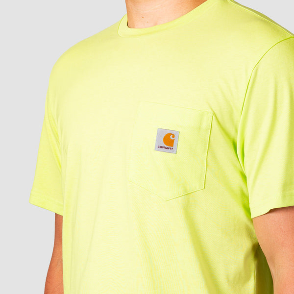 Carhartt WIP Pocket Tee Lime