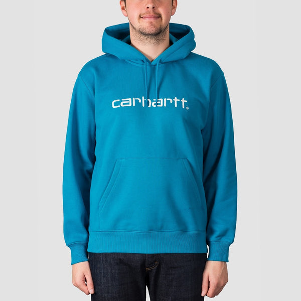 Carhartt WIP Pullover Hood Pizol/White - Clothing