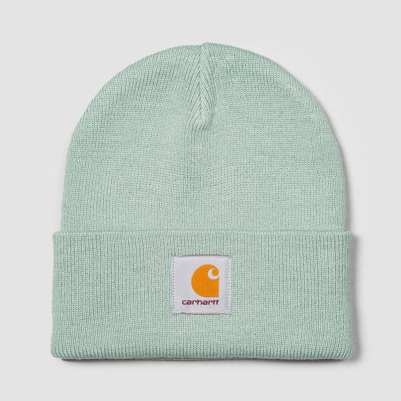 Carhartt WIP Short Watch Beanie Frosted Green - Unisex