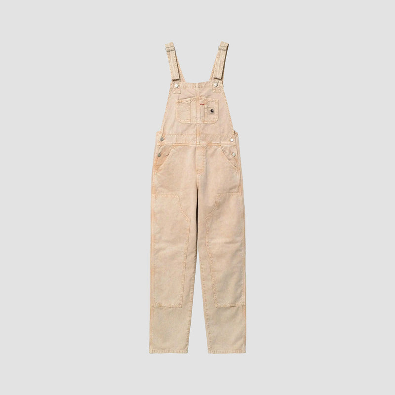 Carhartt WIP Sonora Overall Dusty Hamilton Brown Worn Washed - Womens