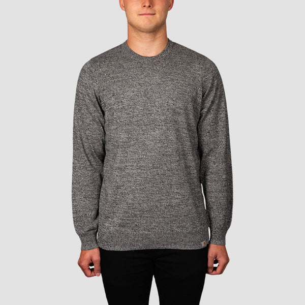 Carhartt WIP Toss Crew Sweat Black/Broken White