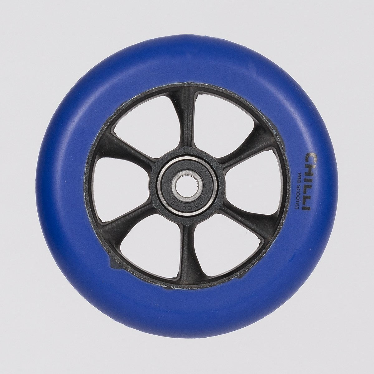 Chilli Pro Turbo Wheel 110mm Blue/Black - Scooter