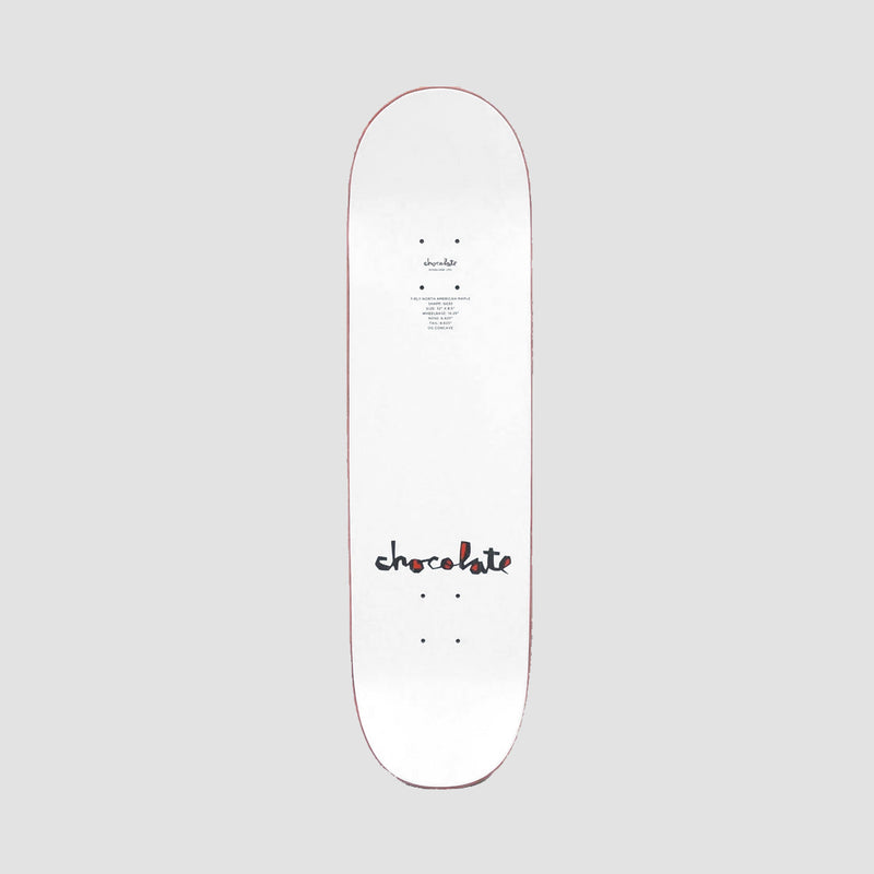 Chocolate Original Chunk V2 Vincent Alvarez W39 Deck - 8.25""