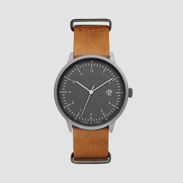 CHPO Harold Watch Betong/Black - Unisex