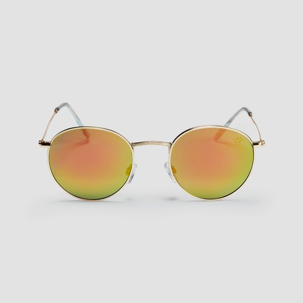 CHPO Liam Sunglasses Gold/Pink Mirror - Unisex - Accessories